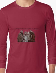 Holy gourd of Jerusalem Long Sleeve T-Shirt