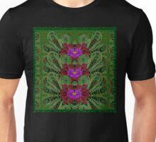 Metal Peacock In paradise Land Unisex T-Shirt