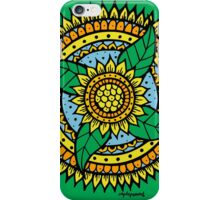 Sunflower mandala iPhone Case/Skin