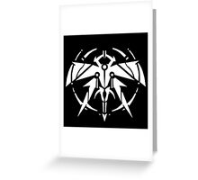 Rank-Up-Magic Raid force White Edition Greeting Card