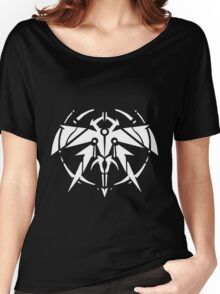 Rank-Up-Magic Raid force White Edition Women's Relaxed Fit T-Shirt