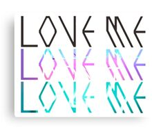 "EXO ""Love Me"" Logo Canvas Print"