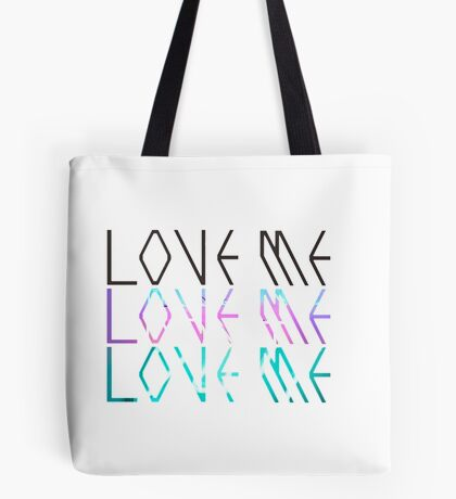 "EXO - ""Love Me [Right]"" Logo Design Tote Bag"