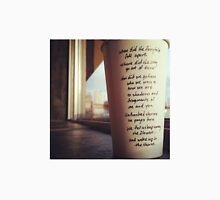 Writing on Coffee Poetry - Fairytale Unisex T-Shirt