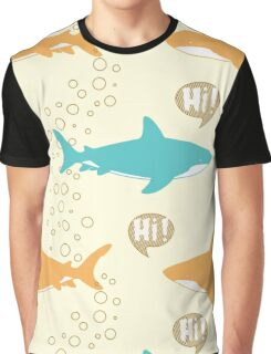 Sharks. Graphic T-Shirt