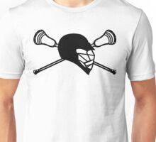 Lacrosse Alpha Black - RB Unisex T-Shirt