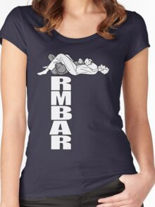 Armbar tee Women's Fitted Scoop T-Shirt