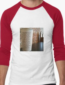 Writing on Coffee Poetry - Should Have Kept T-Shirt