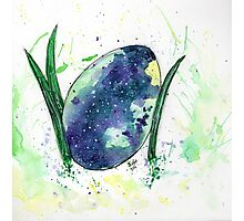 Egg Universe Illustration Photographic Print