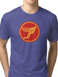 'P' logo Tri-blend T-Shirt