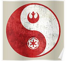 Star Wars Yin-Yang Poster