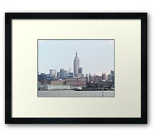 Empire State Building View Framed Print