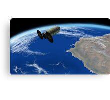 Enhanced Cygnus Spacecraft Canvas Print