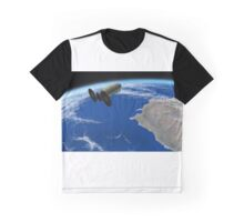 Enhanced Cygnus Spacecraft Graphic T-Shirt