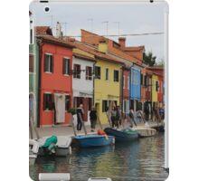 Color me Burano iPad Case/Skin