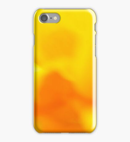 daffodil abstract photo bomb iPhone Case/Skin