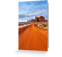 The Long Way Greeting Card