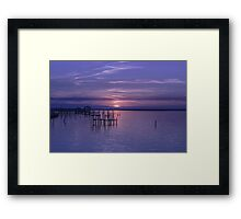 Rest Well World Framed Print