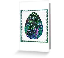 Easter Egg I Greeting Card