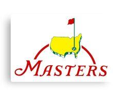 logo Masters Tournament 2016 Canvas Print