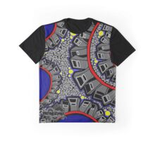 The Original Street Wear – Snake in the City Colour Graphic T-Shirt