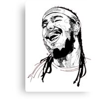 Post Malone Drawing Canvas Print