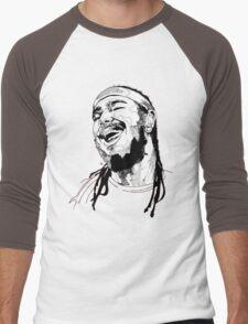 Post Malone Drawing Men's Baseball ¾ T-Shirt