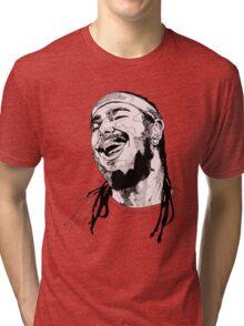 Post Malone Drawing Tri-blend T-Shirt