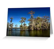 A clear day on Lake Martin Greeting Card