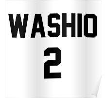 Haikyuu!! Jersey Washio Number 2 (Fukurodani) Poster
