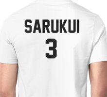 Haikyuu!! Jersey Sarukui Number 3 (Fukurodani) Unisex T-Shirt