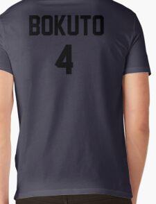 Haikyuu!! Jersey Bokuto Number 4 (Fukurodani) Mens V-Neck T-Shirt