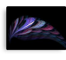 Feather Teal Canvas Print