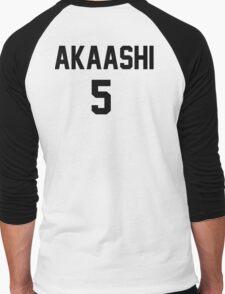 Haikyuu!! Jersey Akaashi Number 5 (Fukurodani) Men's Baseball ¾ T-Shirt