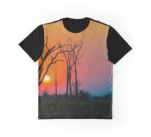 Sunset Zambia Graphic T-Shirt