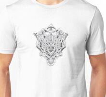 Third Eye Bull Doodle Unisex T-Shirt