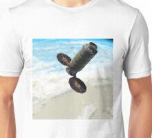 Enhanced Cygnus Spacecraft in Orbit Unisex T-Shirt