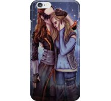 Clexa Snuggle iPhone Case/Skin