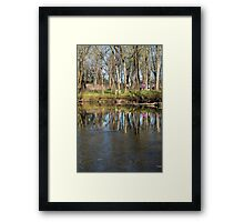 Reflections in Beargrass Creek Framed Print