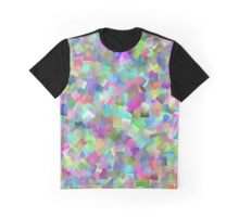 Pastel Mosaic Graphic T-Shirt
