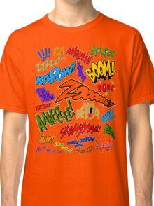 Onomatopoeia Collage #1 (1 of 2) Classic T-Shirt