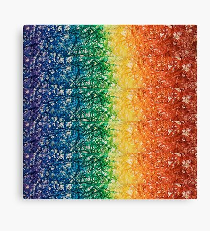 For the Love of Rainbow Canvas Print