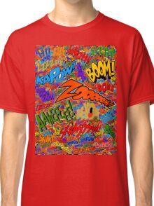Onomatopoeia Collage #2 (2 of 2) Classic T-Shirt