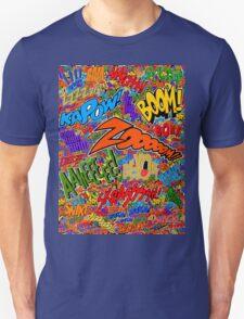Onomatopoeia Collage #2 (2 of 2) T-Shirt