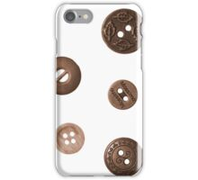 Button and Weight iPhone Case/Skin