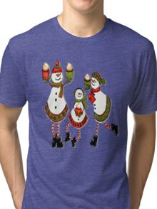 Sweet Holiday Wishes Tri-blend T-Shirt