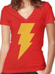 Shazam Women's Fitted V-Neck T-Shirt