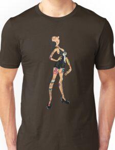 Pinup girl Olive Oil Original Artwork by WRTISTIK Unisex T-Shirt