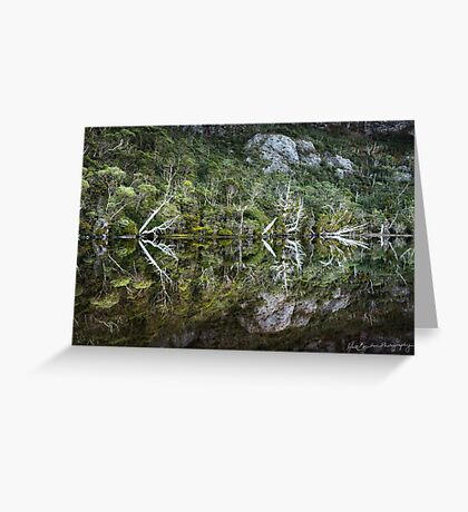 Flynn's Tarn Reflections Greeting Card