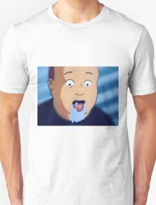 Bobby hill mouth foam  Unisex T-Shirt